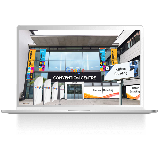 Create your captivating virtual event and an innovative experience for visitors